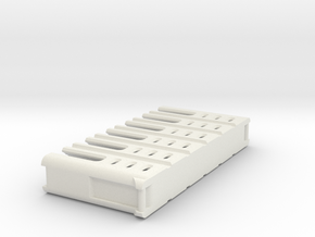 Battery ClipAA 2 in White Natural Versatile Plastic