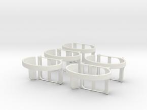 nanolet small  X5 in White Natural Versatile Plastic