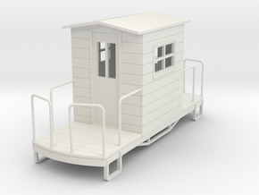 55n9 caboose 3 in White Natural Versatile Plastic