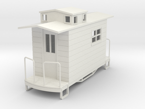 55n9 caboose 2 in White Natural Versatile Plastic