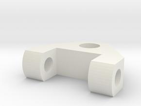 logitech C910 webcam mount on 6mm bolt (tripod) in White Strong & Flexible