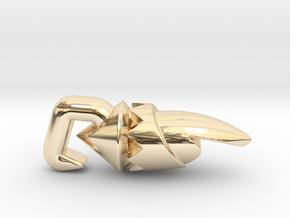 Hookshot II in 14K Yellow Gold