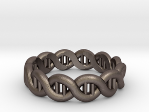 DNA sz20 in Polished Bronzed Silver Steel