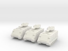 15mm Scorpion AFV w/  Beam Cannons (x3) in White Natural Versatile Plastic