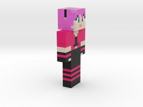 6cm | MinecraftChick in Full Color Sandstone