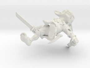 Ninja Goblin 2.0 in White Natural Versatile Plastic