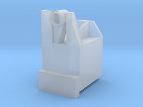 Lunar Prospector 1/20th Magnetometer Box in Smooth Fine Detail Plastic