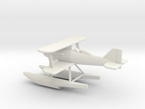 GAAR16 Gloster IIIA 1/144 in White Natural Versatile Plastic
