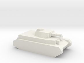 Panzer IV (75mm L/24 Gun) in White Natural Versatile Plastic