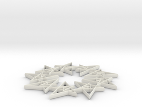 SL 10 40 in White Natural Versatile Plastic