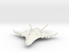 1/285 Royal Empire Raptor Fighter in White Strong & Flexible