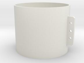 DF40 21.4mm in White Natural Versatile Plastic