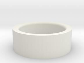 Decepticon Ring in White Natural Versatile Plastic