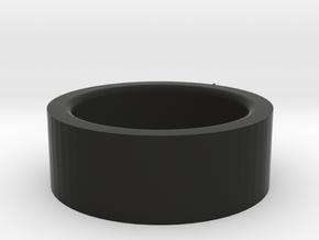 Decepticon Ring in Black Strong & Flexible