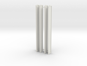 zip1200 lengte 10 m 1:87 in White Natural Versatile Plastic