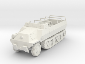 Vehicle- Type 1 Ho Ha (1/72nd) in White Natural Versatile Plastic