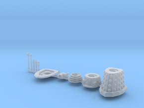 Dalek Standard Sprue type016c (x1) in Frosted Ultra Detail