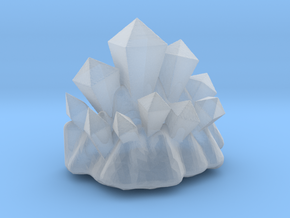 Coridite Crystals (Version 2) in Smooth Fine Detail Plastic