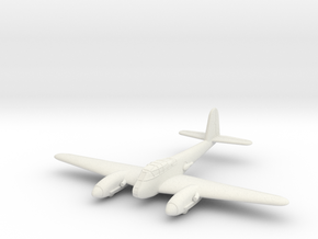 1/100 Messerschmitt Me-410 in White Natural Versatile Plastic