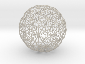 Sandstone Sphere_d2 in Natural Sandstone
