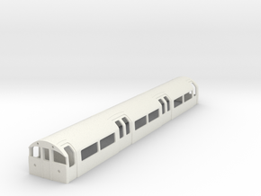 1973 Tube Stock driver London Underground in White Natural Versatile Plastic: 1:87 - HO