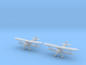 1/200 Heinkel He-51 (x2) in Smooth Fine Detail Plastic