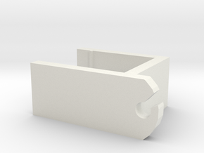 IKEA shelf clip in White Natural Versatile Plastic