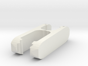 IKEA clothes clip replacement (Pressa/Octopus)  in White Natural Versatile Plastic