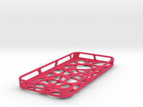 iPhone 5/5S case - Cell 2  in Pink Strong & Flexible Polished