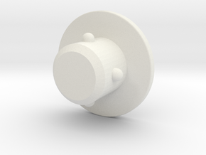 OP-1  M6 COVER PLUG 1 in White Natural Versatile Plastic