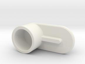 acc stl   OP CRANK ASSY 1 CRANK BODY 1 in White Natural Versatile Plastic