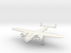 1/200 Dornier Do-17Z in White Natural Versatile Plastic