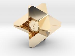 Mini Robot in 14K Yellow Gold