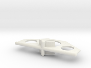 Book Holder in White Natural Versatile Plastic