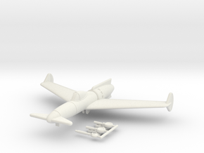 1/144 Curtiss P-55J Jet Ascender (wheels down) in White Natural Versatile Plastic