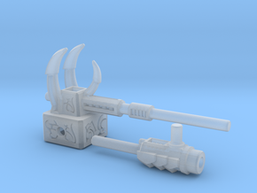 Primordial Claw-Hammer & Fossilizer- 5mm Weapons in Smooth Fine Detail Plastic