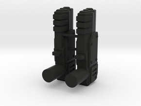 Oracle x2 Blasters in Black Natural Versatile Plastic