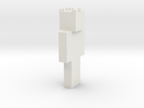 minecraft me  in White Strong & Flexible
