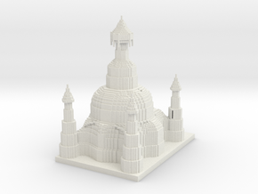 palace (smal)  in White Natural Versatile Plastic