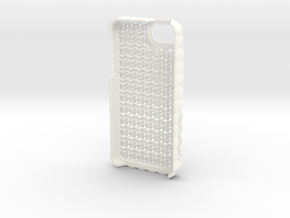 "iPhone 5 - ""Sweater"" Case in White Processed Versatile Plastic"