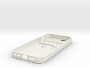 iPhone 5 Hokies Case in White Strong & Flexible