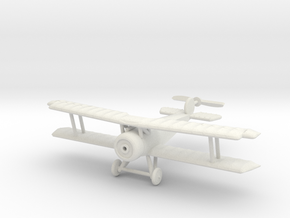 1/144 Fokker D.V in White Natural Versatile Plastic