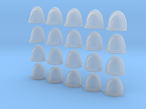 Triangle Rimmed in Smooth Fine Detail Plastic