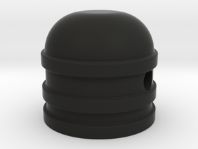 Dome style knob in Black Strong & Flexible
