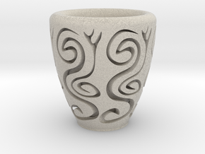 Orient coffee cup in Natural Sandstone