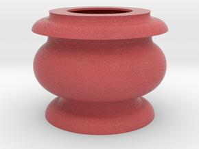 Flower Vase_10 in Full Color Sandstone