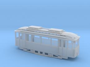 Tram Leipzig Typ 22s Pullmanwagen (1:87 )H0 in Smooth Fine Detail Plastic