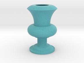 Flower Vase_22 in Full Color Sandstone