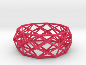 Bracelet Constructionist size M in Pink Processed Versatile Plastic