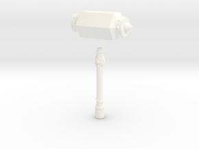 Kalix Hammer Giant Size in White Processed Versatile Plastic